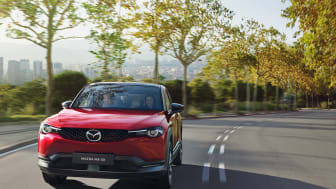 Mazda MX-30 Soul Red