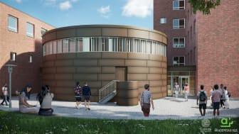 M-huset, Teknodromen (exteriört), Lunds Tekniska Högskola
