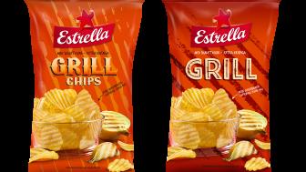 Estrella Grillchips får ny design 2020