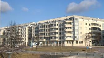 Riksbyggen renoverar tak och fasader åt Brf  Hälsan i Jönköping