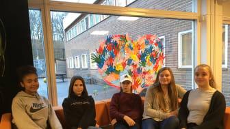 Elever från Erlaskolan.