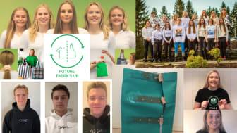 Fire nye norgesmestere, gratulerer Future Fabrics UB, Laika UB, iPakk UB og Esse UB