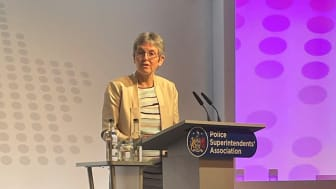 Commissioner Cressida Dick at the 2021 PSA Conference