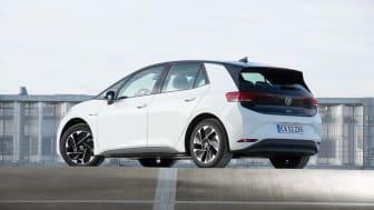 Med introduktionen af den nye ID.3 City med 45 kWh-batteri og 349 km rækkevidde favner modelprogrammet bredere end for nogen anden elbil