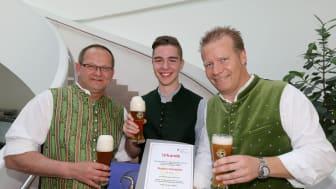 Paulaner stellt zum vierten Mal in Folge den Sieger bei den Münchner Stadtmeisterschaften der Brauerauszubildenden
