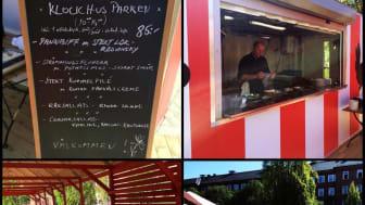 Sommarrestaurang för studenter och Klockhusparksbesökare