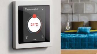 KNX Multitouch Pro er perfekt til hoteller, kontorer og andre næringsbygg, og kan også brukes i boliger.