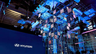 (Photo_4) Hyundai Motor's booth at IAA Mobility 2021_artistic displays on hydrogen value chain