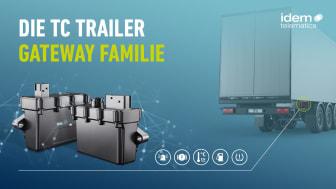 Die neue TC Trailer Gateway Familie, bestehend aus TC Trailer Gateway BASIC und TC Trailer Gateway PRO, erleichtert Speditionen die Digitalisierung des Fuhrparks.