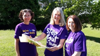 Stroke survivor and local stroke teams make Scafell Pike purple this May