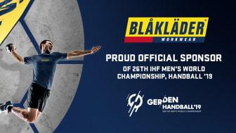 Blåkläder stolt sponsor av håndball-VM 2019
