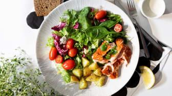 Hetki Bistro-salaatit ovat konstailematon täyttävä ateria tuoreilla kasviksilla.