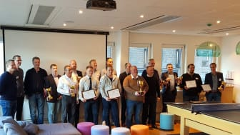 All the winners in the Eco Driving Challenge