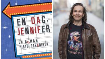 """Nu kommer feelgood-debuten som gav sportjournalisten från Stockholm världskontrakt! """"En dag, Jennifer"""" av Risto Pakarinen släpps den 19 september"""
