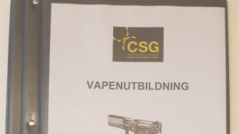 CSG är auktoriserat utbildningsföretag för HAS utbildning