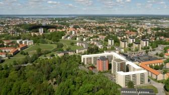 Pressinbjudan: Riksbyggen tar första spadtaget för 225 nya lägenheter i Linköping