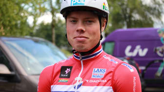 Rasmus Tiller under EM landevei 2017