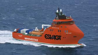 Nybygningen H-048 er designet og udviklet i et samarbejde mellem ESVAGT og Havyard og bliver bygget på Cemre Shipyard i Tyrkiet.