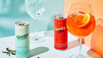 SpritzISH och GinISH & Tonic-Alkholfri
