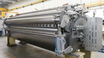 Valstork E20/45 ger hög produktkvalitet tack vare kort värmeexponering av produkten.  Foto: Andritz Gouda