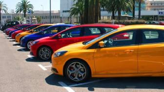 Ford Focus ST er Europas mest solgte i sin klasse