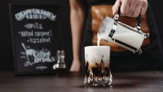 Löfbergs is launching a new concept for cold coffee beverages adjusted for restaurants, coffee bars and other players in the Out of Home market.