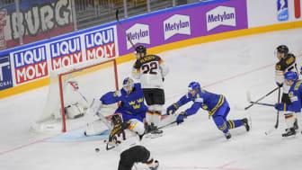 Tre kronor möter hemmanationen Tyskland i 2017 års gruppspel i IIHF ishockey-VM.