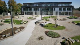 Die neue Zentrale von waldwasser in Moos bei Deggendorf/ Bayern