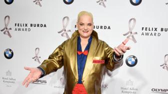 Hella von Sinnen, Moderatorin des Felix Burda Award 2017
