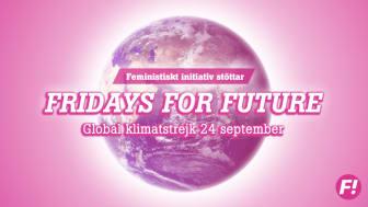 Fi stöttar Fridays For Future