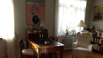 Astrid Lindgrens vardagsrum på Dalagatan 46