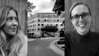 Hedda Spendrup på Omaka bryggeri och och Tua Asplund på A house samarbetar med Stellagalan.