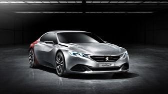Peugeot Exalt konceptbil front
