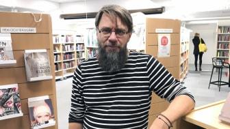 Rolf Andersson, projektledare för Blekingebiblioteken. Foto: Leila Rudelius