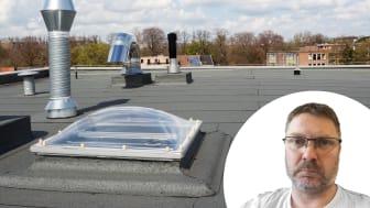 Lars Bipsgård driver Bispgård Tak och Fasadkonsult AB och ger sina bästa tips för tak- och tätskiktsprojekt.