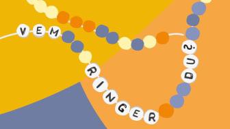 Genom att sitta ner en stund och pärla ett armband kan möjlighet till samtal om hur våld mot flickor och kvinnor kan stoppas. Under vecka 48 uppmärksammas Orange Day i hela staden.