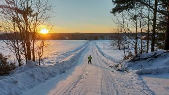 Det finns cirka 80 enskilda vägar idag i Piteå kommun som endast har kommunalt bidrag. Foto: Marie Öqvist