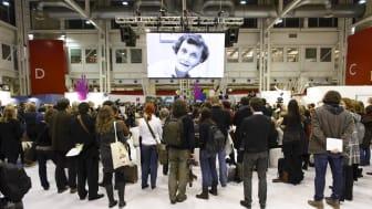 Tillkännagivandet av ALMA-priset på barnboksmässan i Bologna
