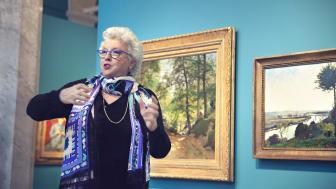 Margareta Gynning, 1:e intendent, pedagog och forskare vid Nationalmuseum. Foto: Sofie Gynning.