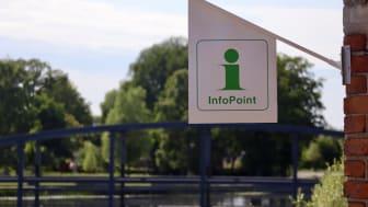 En InfoPoint är en enklare, bemannad turistinformation som är knuten till en auktoriserad Tourist Information. Foto: Therese Andersson