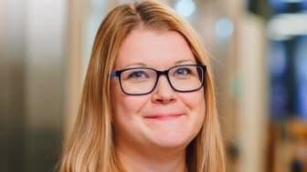 BoKlok Suomen Sari Perento oli yksi onnellisista stipendin saajista