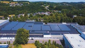 BPW-Werk Wiehl-Brüchermühle produziert mit Solarstrom