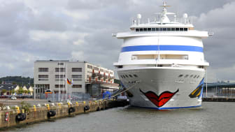 ​The arrival of the Aida Cara will mark the beginning of the cruise season at the Port of Gothenburg.