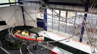 Miniaturachterbahn im Erlebnismuseum für Fördertechnik in Sinsheim