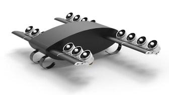 Den flygande bilen - en av framtidens persontransporter enligt KTH-studenterna
