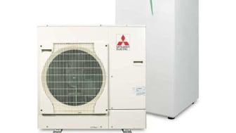 Marknadens kraftigaste och mest energieffektiva värmepump