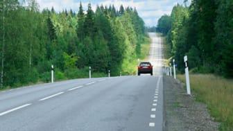 Väg E45 mellan Säffle och Valnäs. Foto: Trafikverket