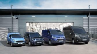 Ford økte salget av nyttekjøretøy