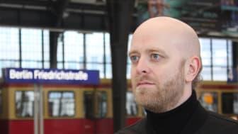 Anders Lind, konstnärlig lektor vid Institutionen för estetiska ämnen, Umeå universitet Foto: Privat