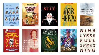 I dag presenterer Deichman tolv topp 10-lister over fjorårets mest utlånte bøker og tegneserier.